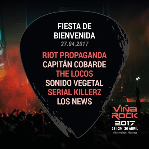 fiesta viña rock 2017