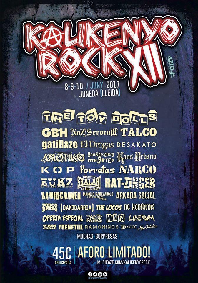 kalikenyo rock 2017