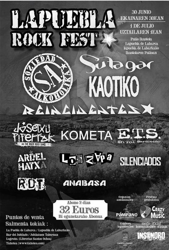 lapuebla rock fest 2017