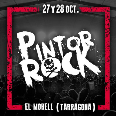 pintor rock 2017