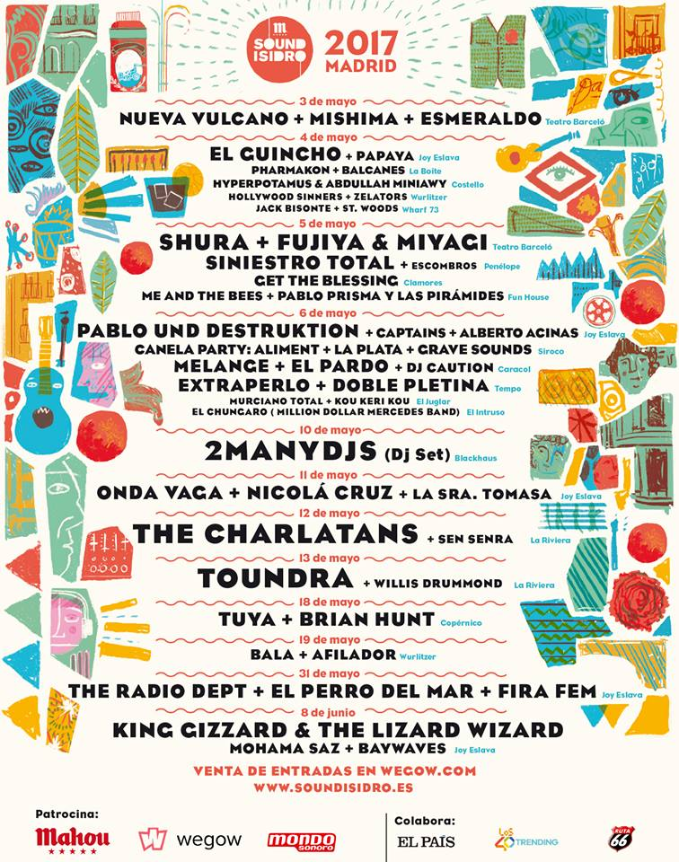 sound isidro 2017 cartel