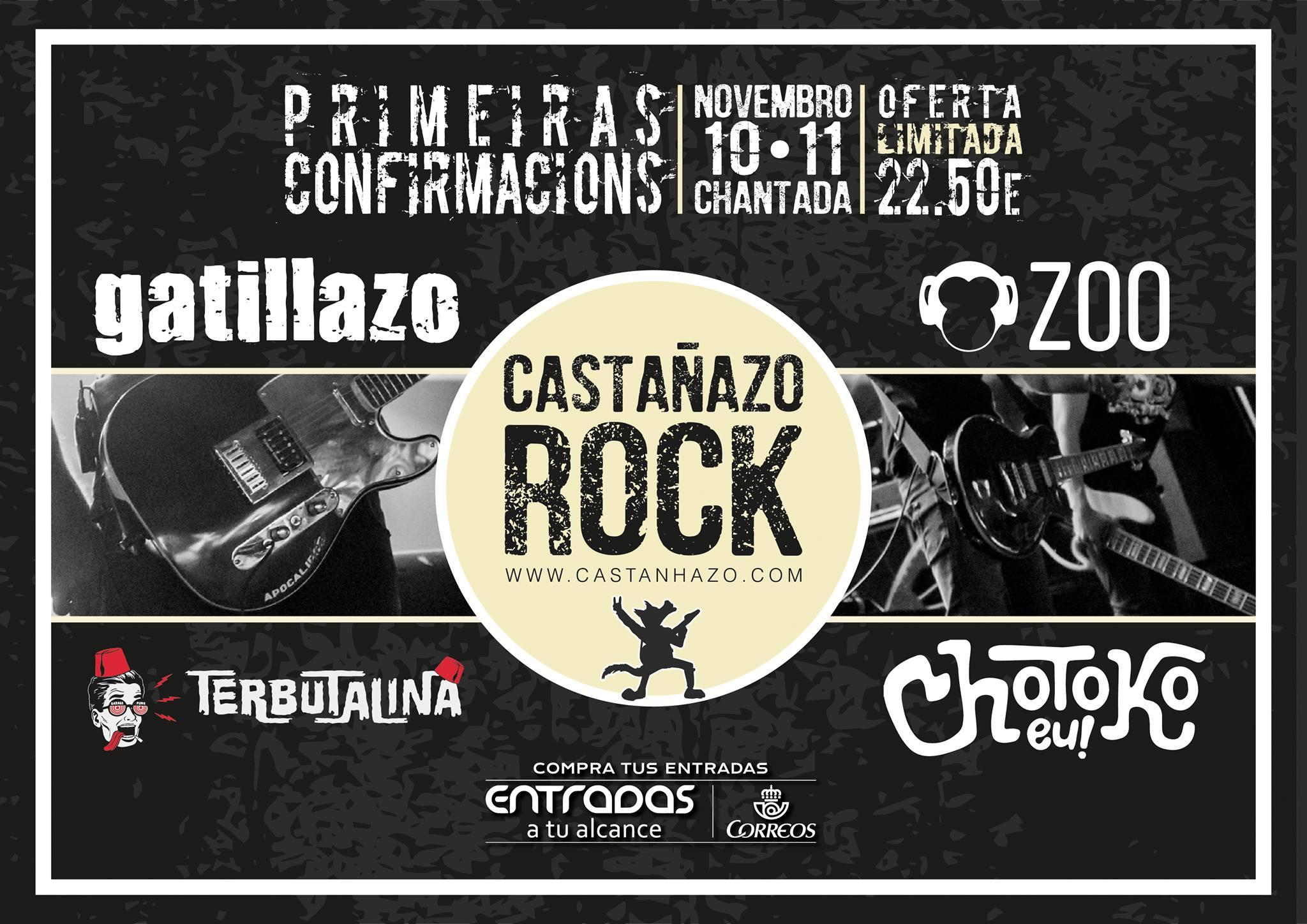 castañazo rock junio 2017
