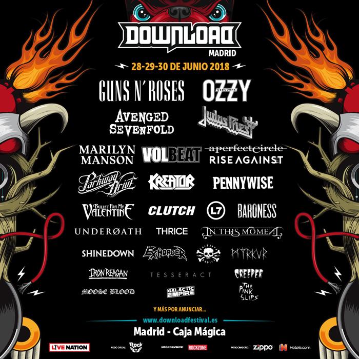 download festival madrid 2018 enero