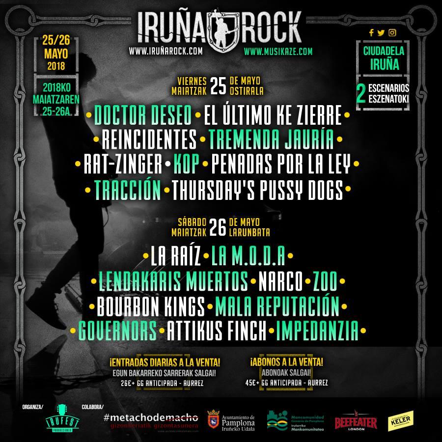 iruña rock 2018 def