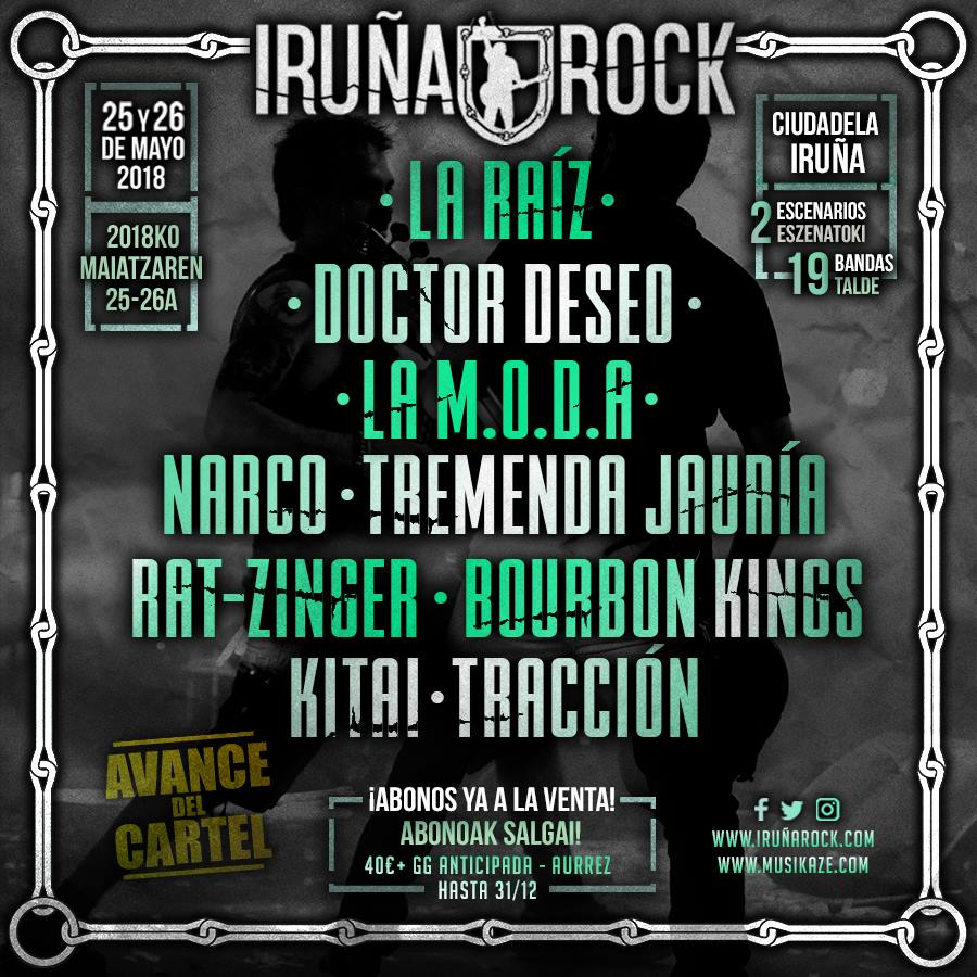 iruña rock 2018 nov