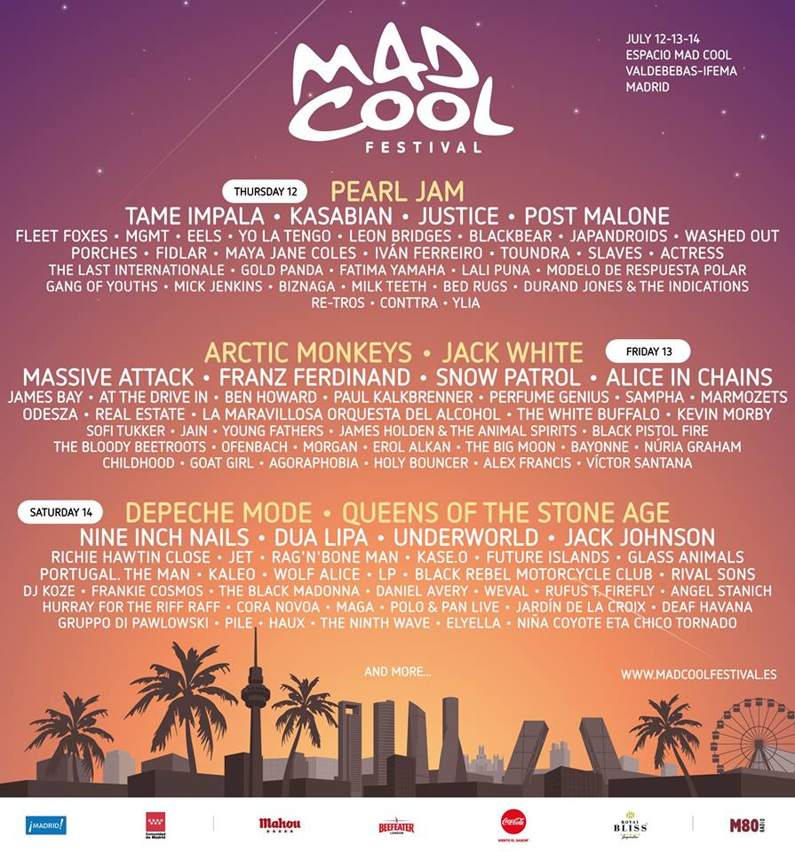 mad cool 2018 feb