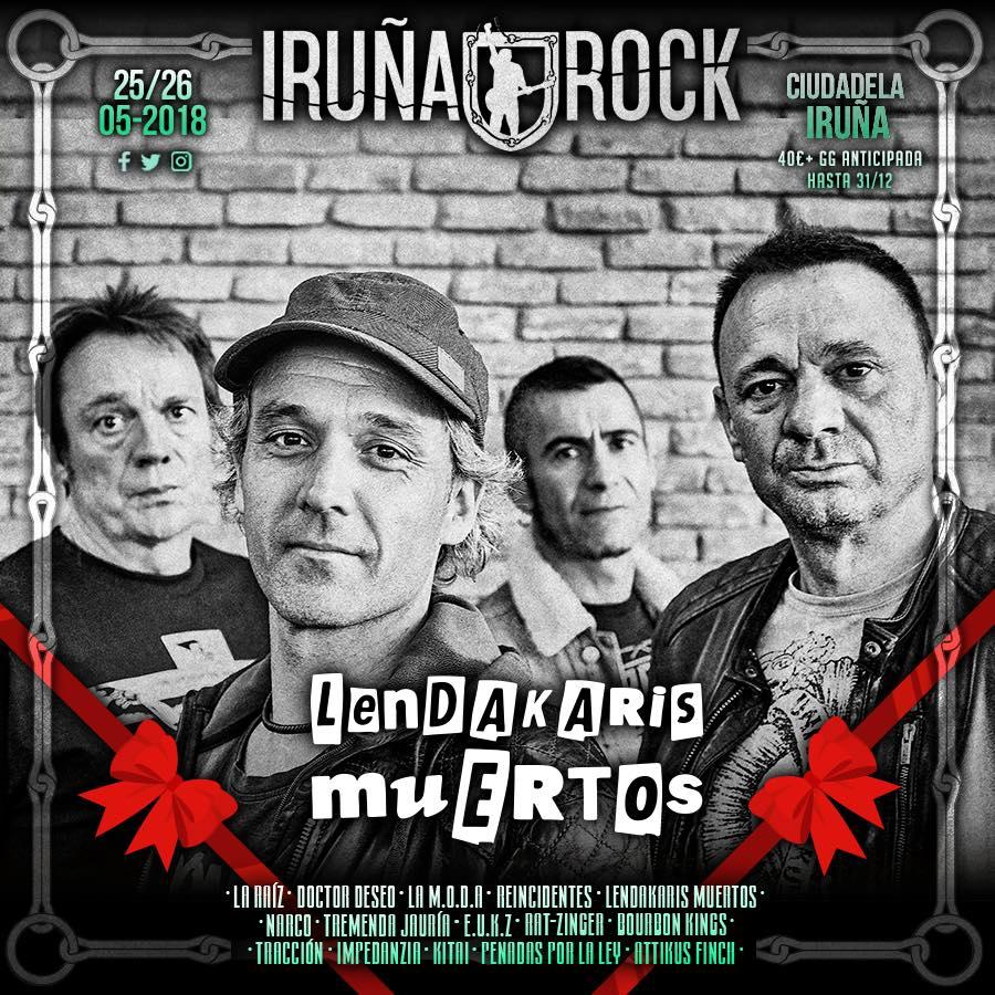 iruña rock 2018 lendakaris muertos