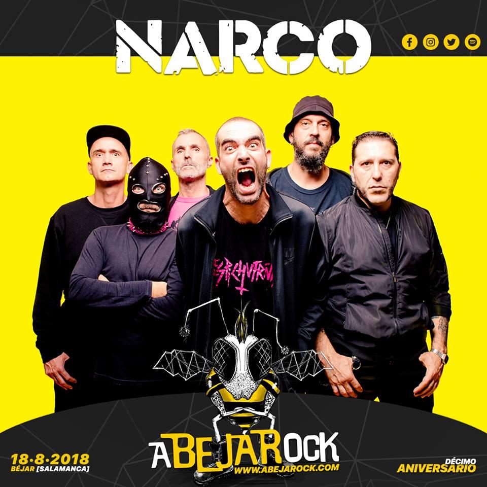 narco abejarock 2018