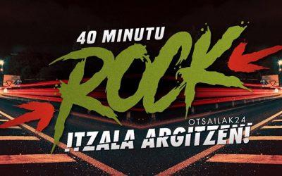 Horarios del 40 Minutu Rock