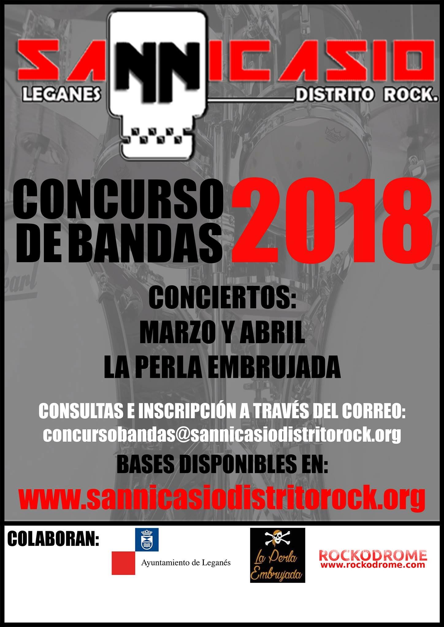 concurso de bandas de san nicasio distrito rock 2018