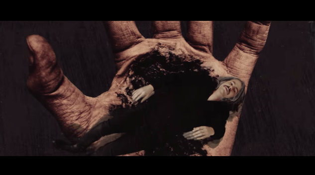 Black Salvation Breathing Hands