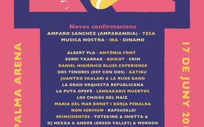 Nuevas confirmaciones para el Concert per la Llibertat d´expressió en Palma de Mallorca
