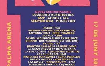 Más confirmaciones para el Concert per la Llibertat d´expressió en Palma de Mallorca