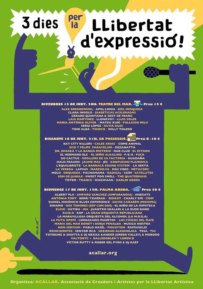 Concert per la Llibertat dexpressio 201806