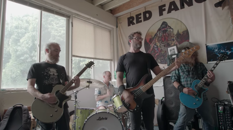 Red Fang listen to the sirens