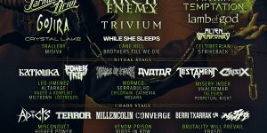 Cartel por días del Resurrection Fest 2019