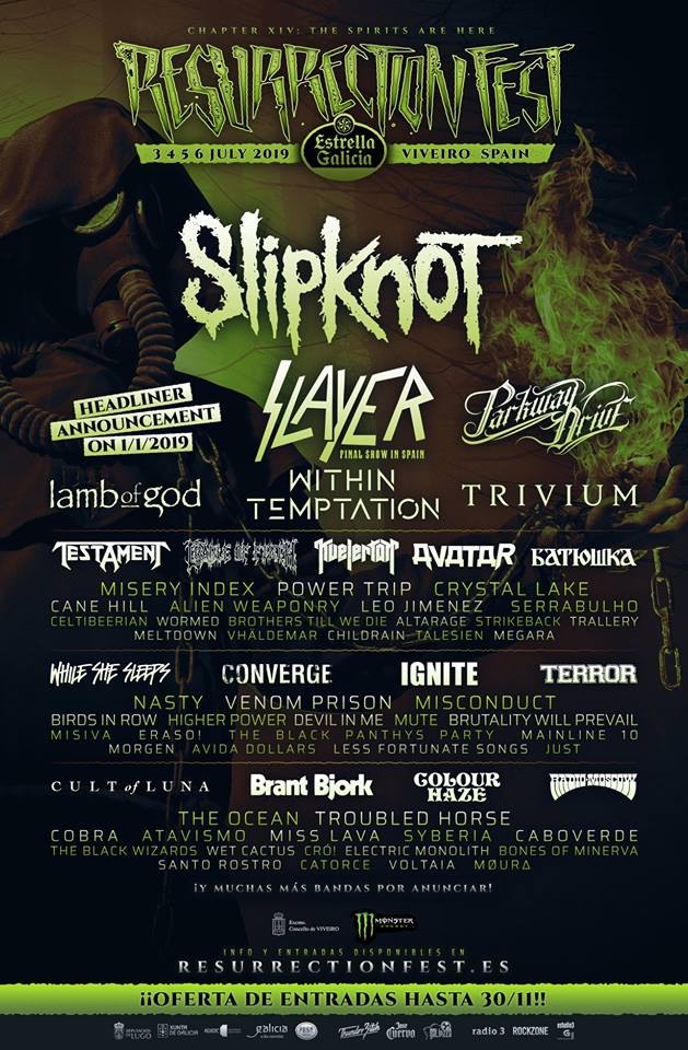 resurrection fest 2019 nov