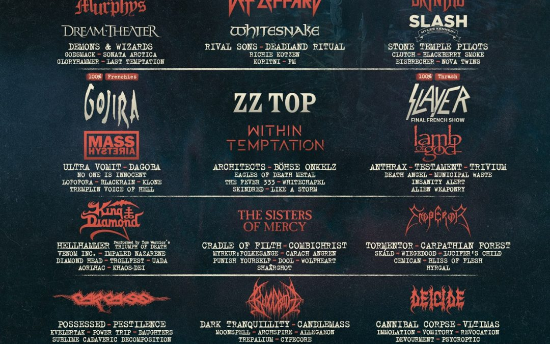 Cartel completo del Hellfest 2019