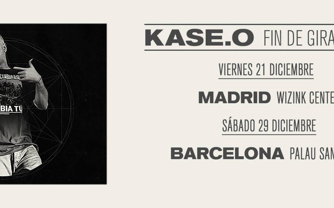 Fin de gira de Kase.O en Madrid y Barcelona