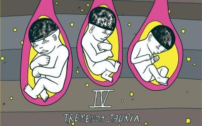 """""""IV"""" es el nuevo EP de Tremenda Jauría"""