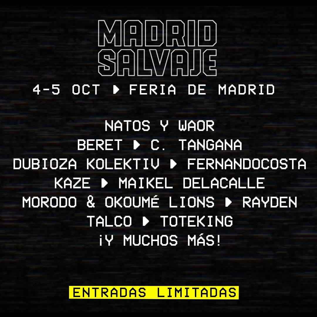 Madrid Salavaje 2019