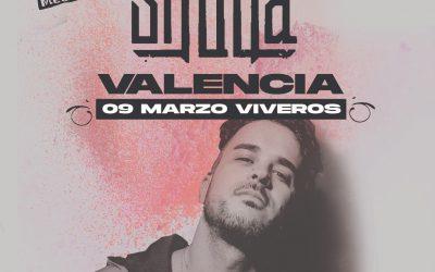Shotta se une a Natos y Waor en Valencia el próximo marzo