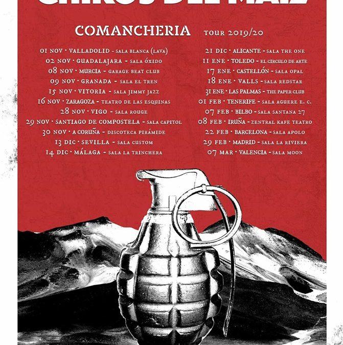 Los Chikos del Maíz anuncian fechas