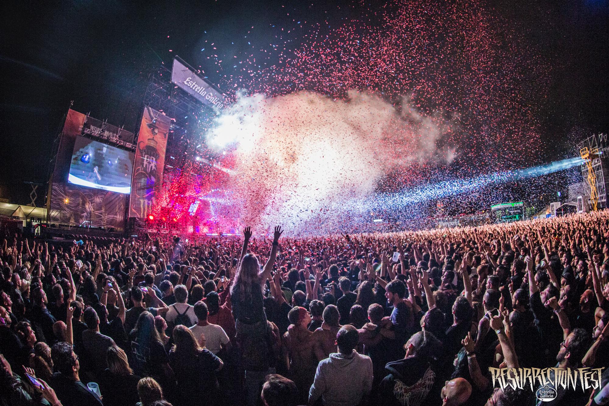 Resurrection Fest 2017 - Rammstein - Amerika Confetti - Javier Bragado