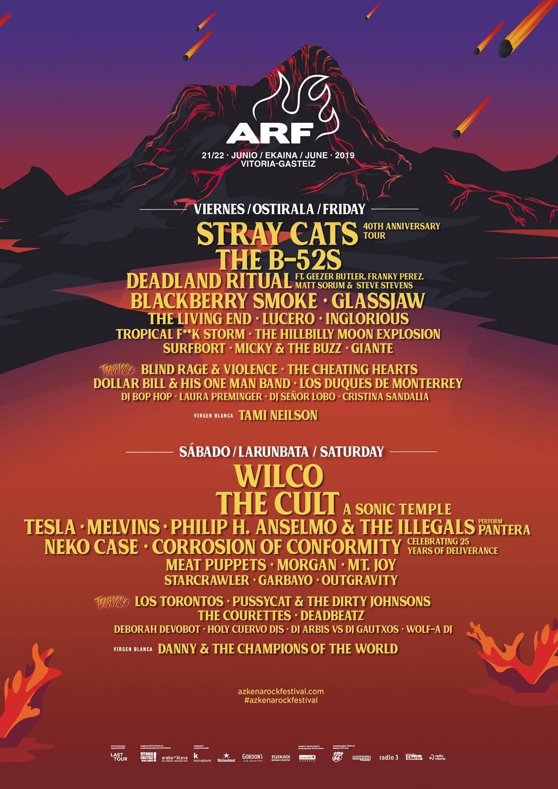 azkena rock festival 2019