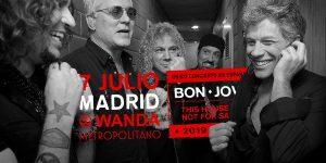 Concierto de Bon Jovi en Madrid el próximo 7 de julio