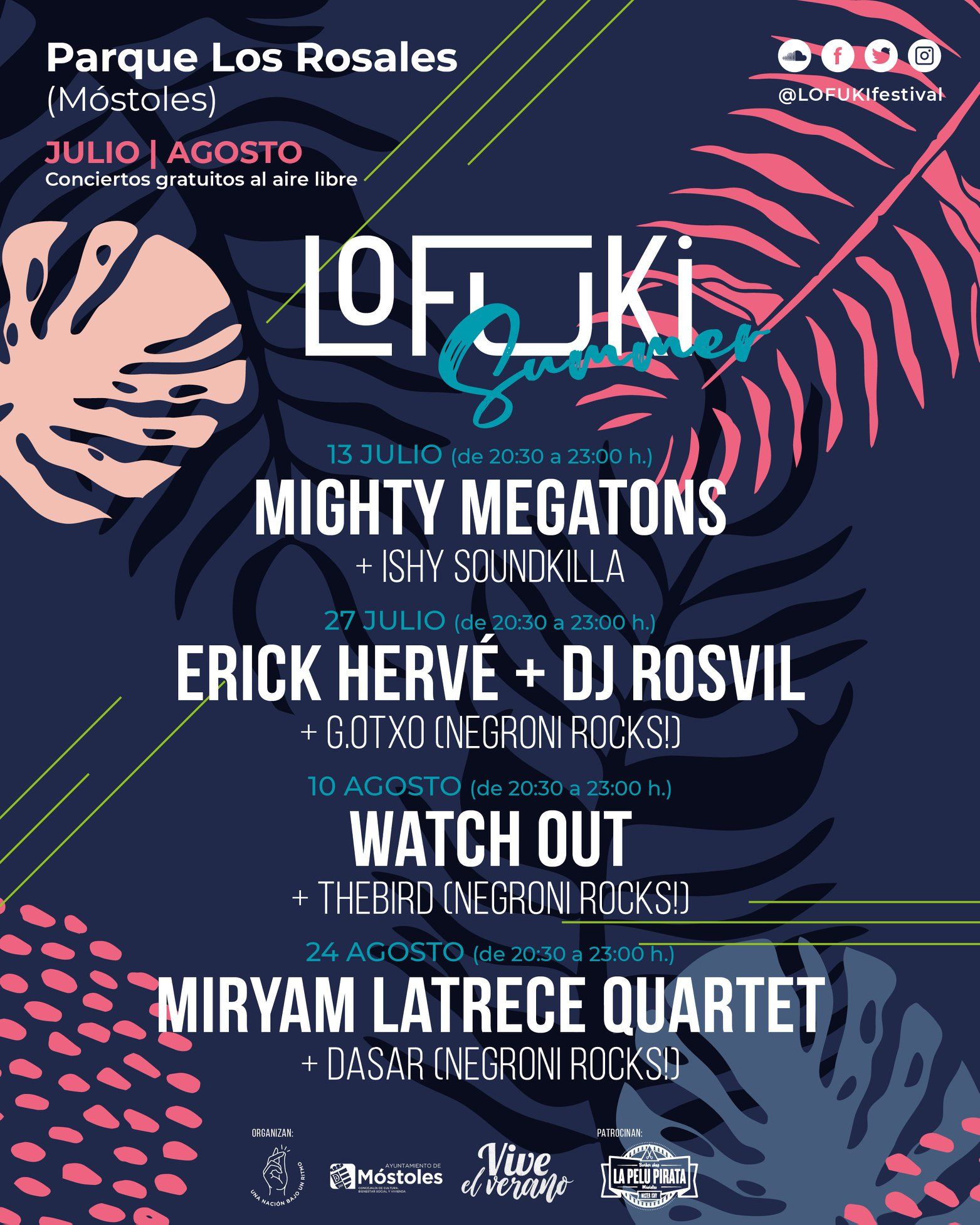 Lofuki Summer 2019: Watch Out + Thebird (Negroni Rocks!)