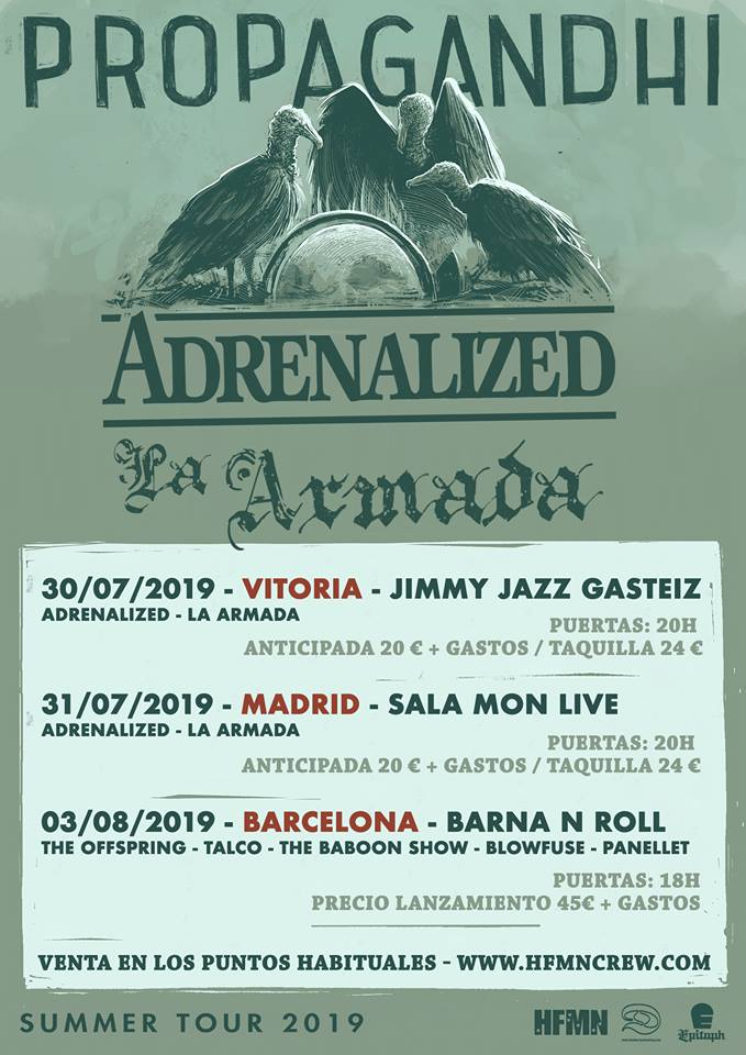Propagandhi +Adrenalized + La Armada