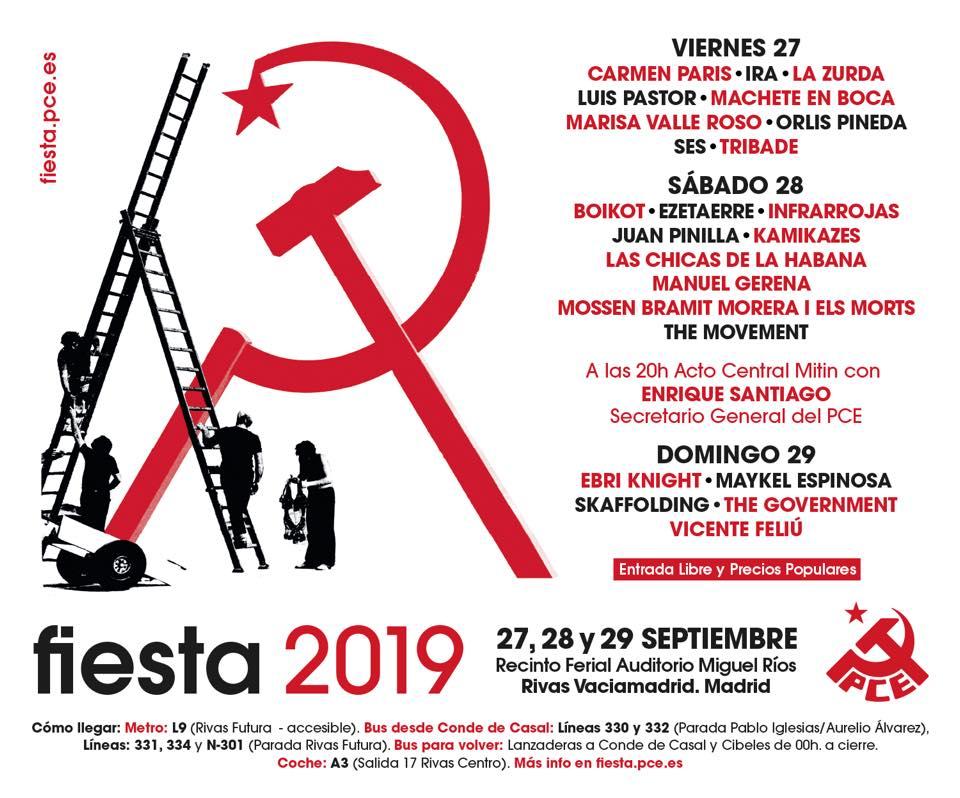 Fiesta del PCE 2019