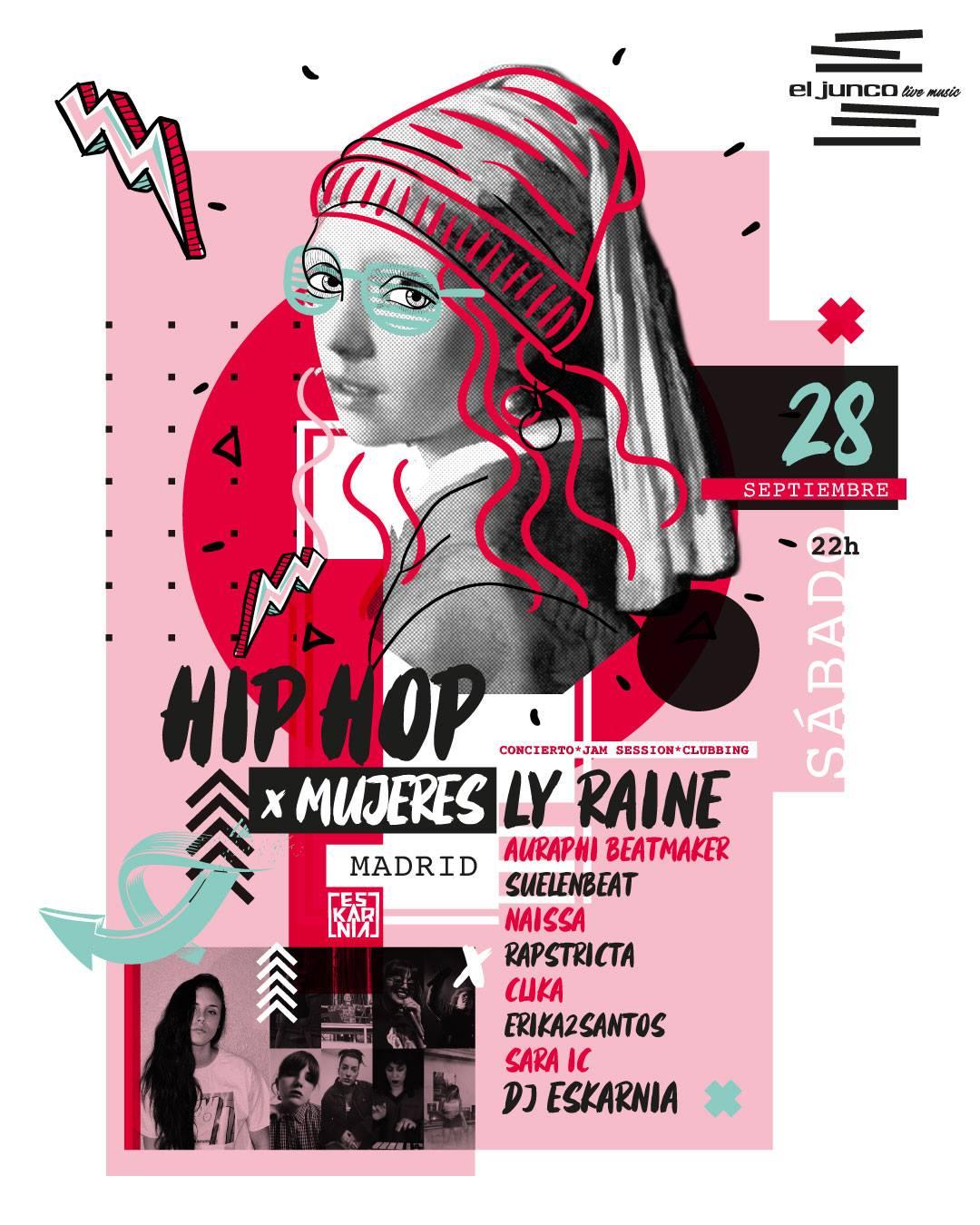hip hop mujeres 20190928
