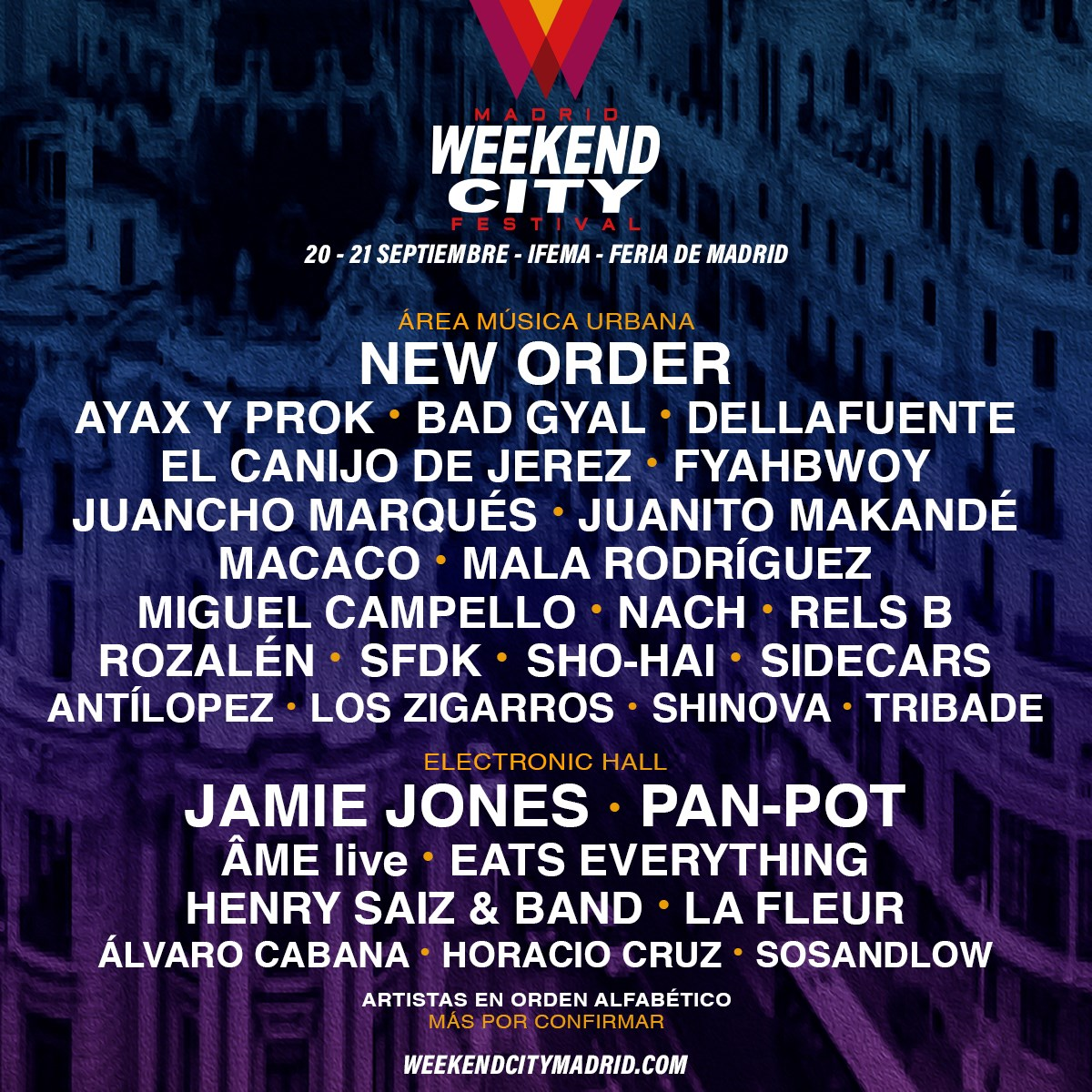 Madrid Weekend City Festival 2019