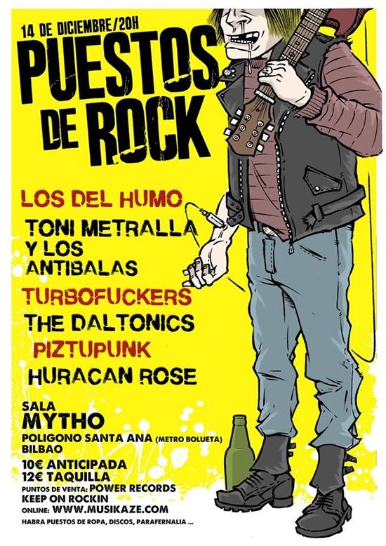 puestos de rock 2019