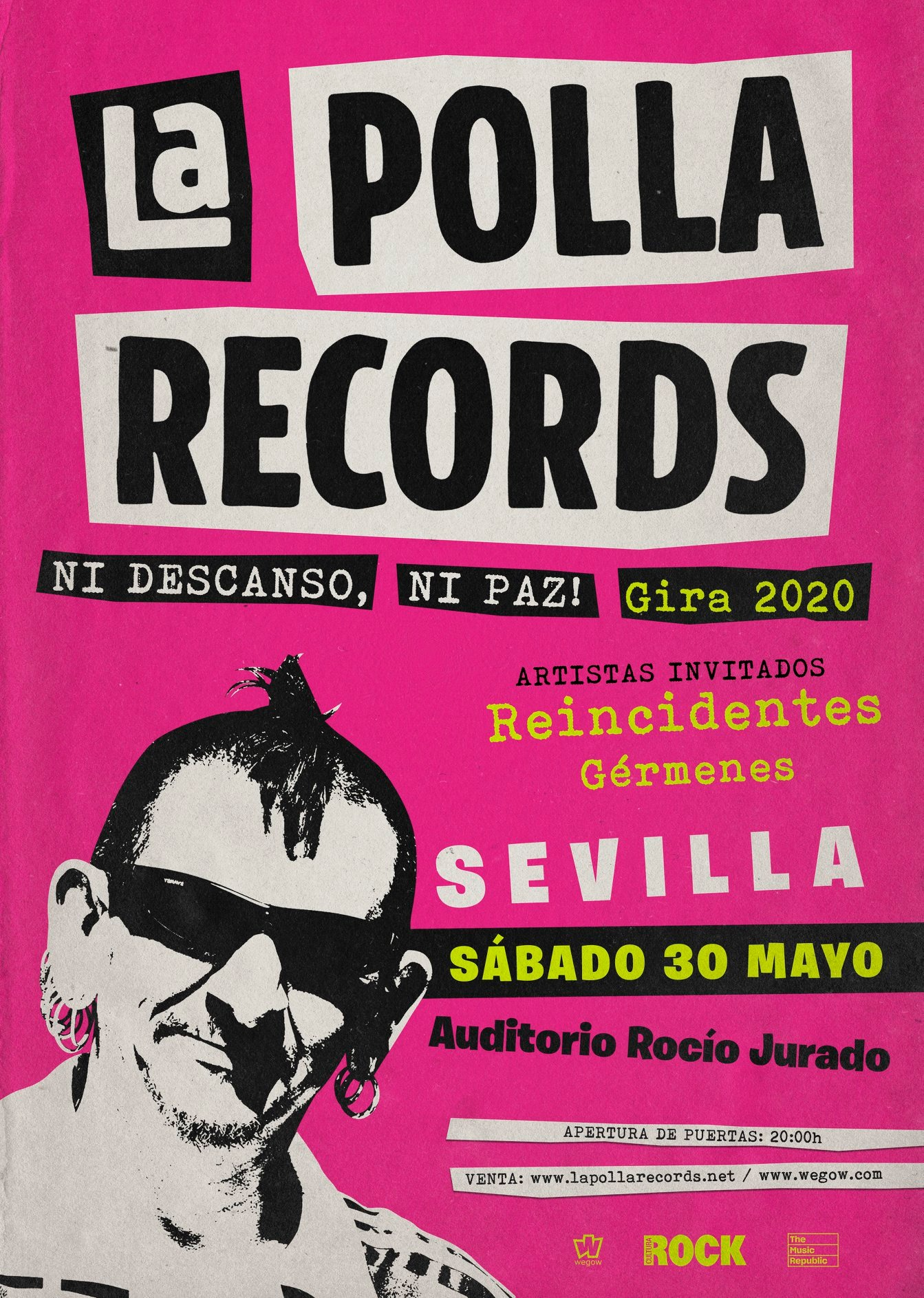 La Polla Records + Reincidentes + Gérmenes