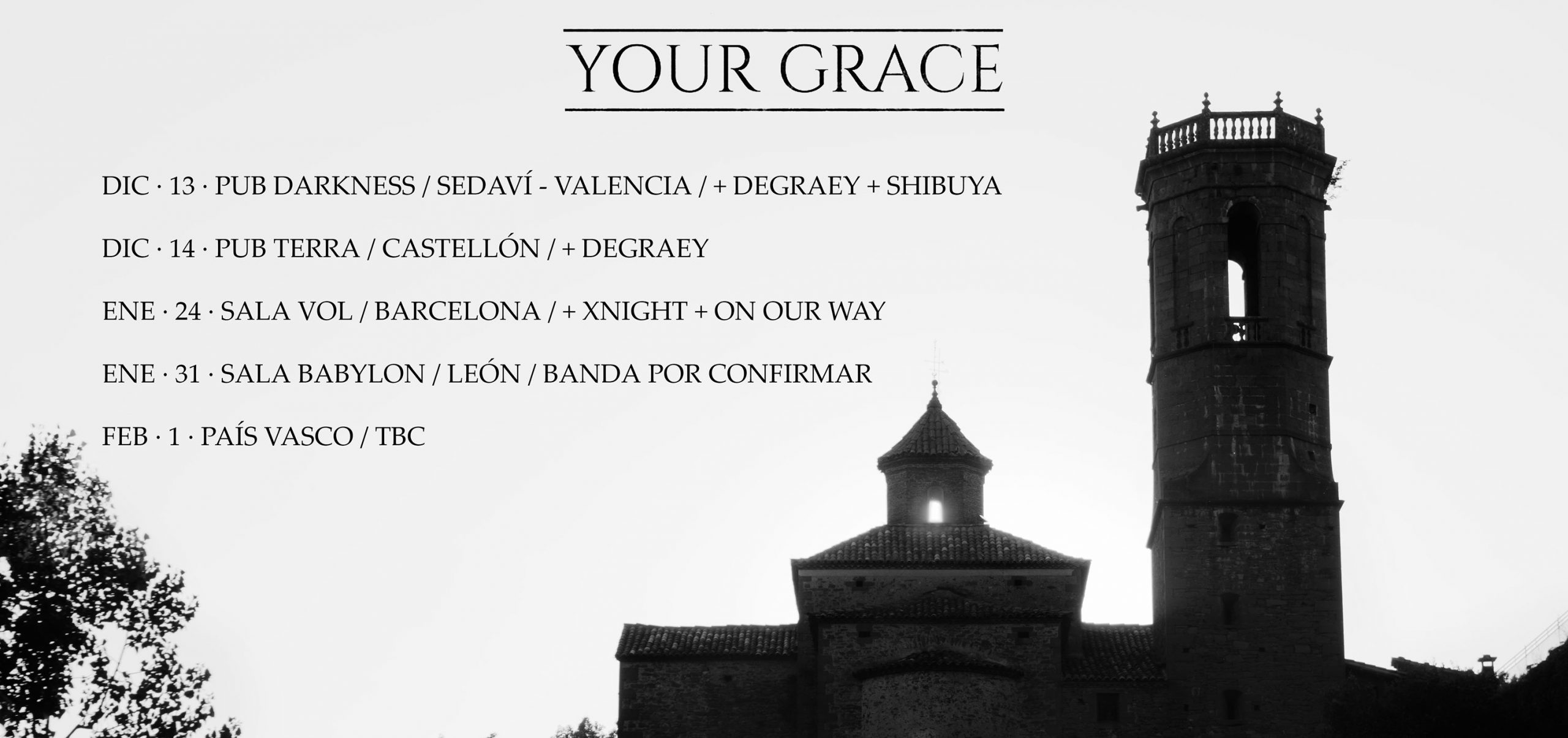 your grace tour 20192020