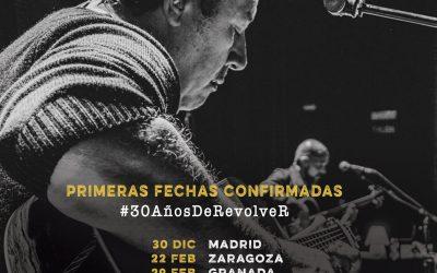 Gira de Revólver para celebrar los 30 años de la banda