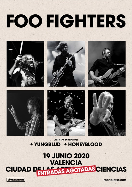 Foo Fighters + Yungblud + Honeyblood valencia 2020