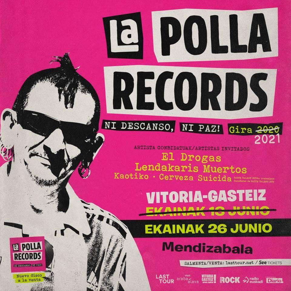 La Polla Records + El Drogas + Lendakaris Muertos + Kaotiko + Cerveza Suicida