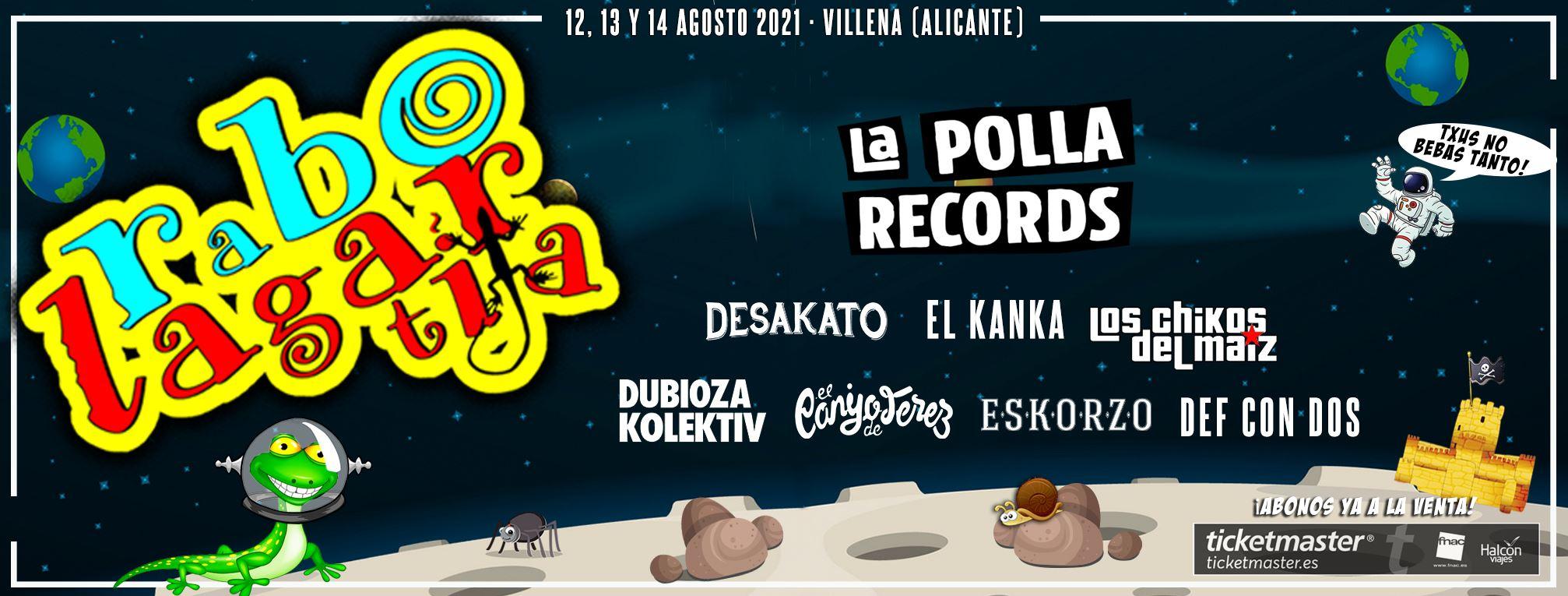 Rabolagartija Festival 2021