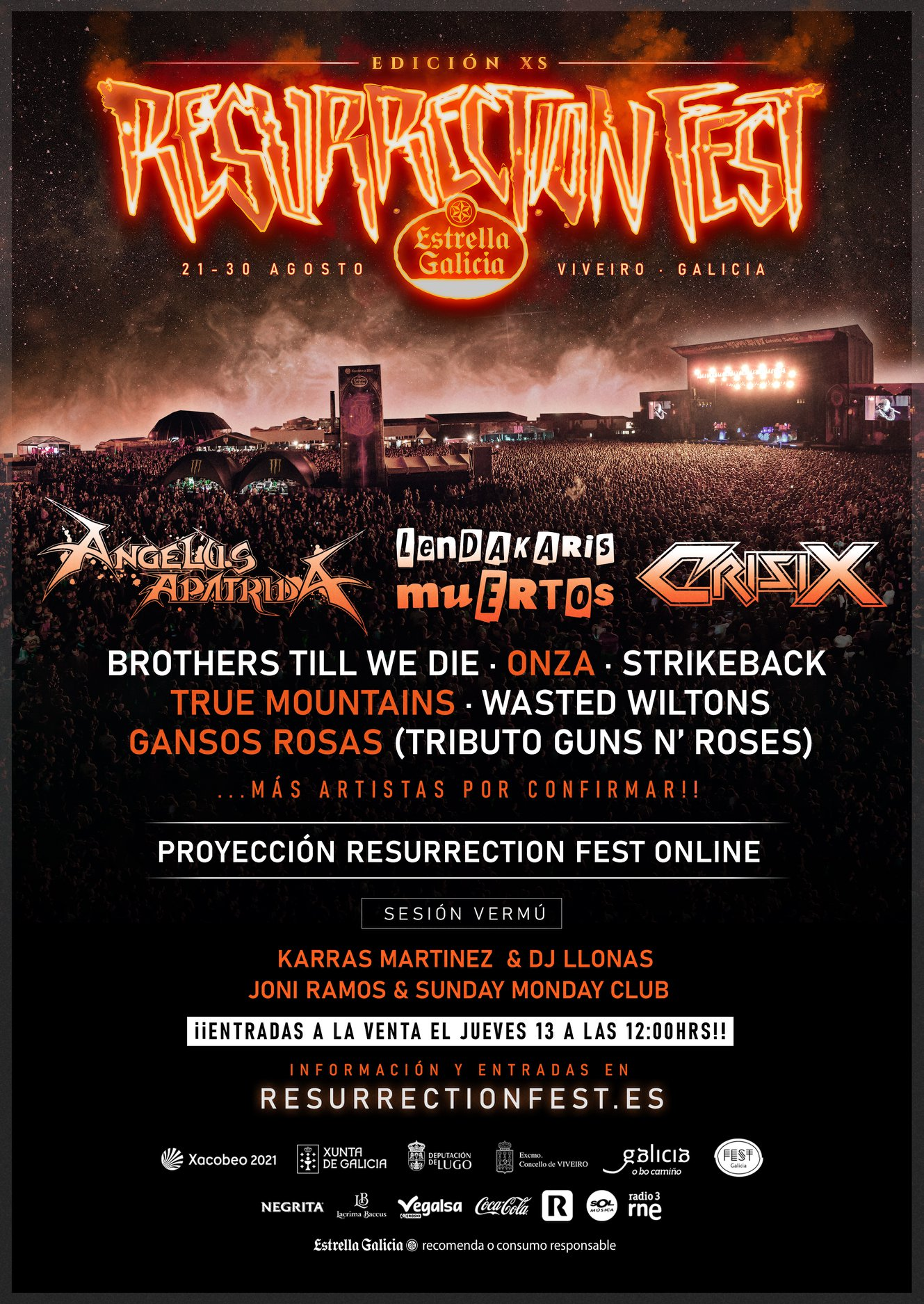resurrection fest xs 2020