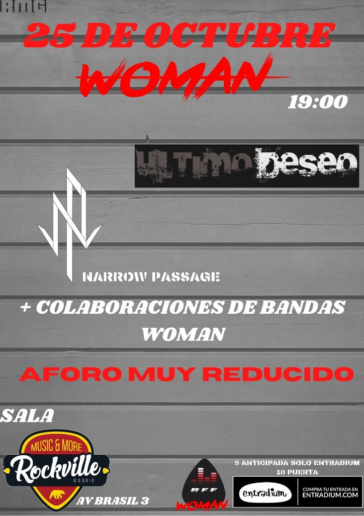 Woman MMF: Último Deseo + Narrow Passage