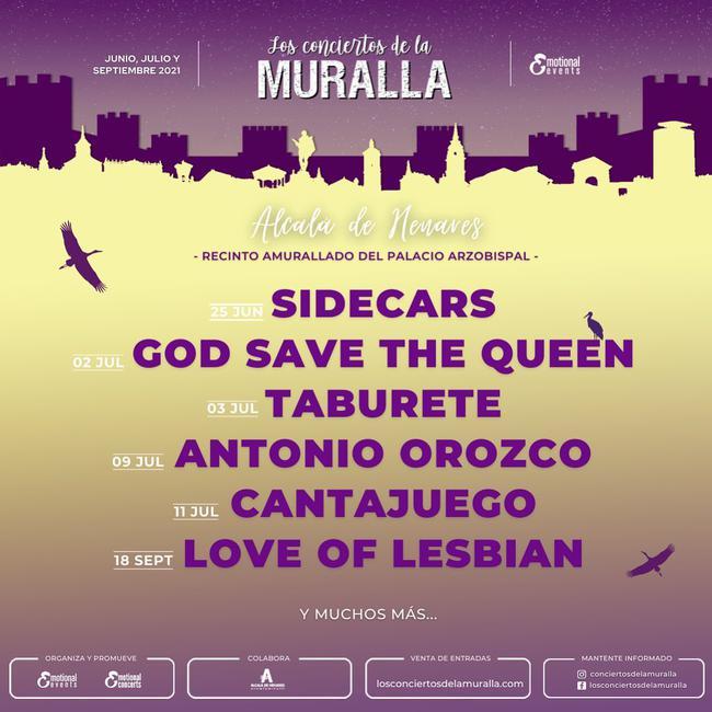 Los Conciertos de la Muralla 2021 - Love Of Lesbian