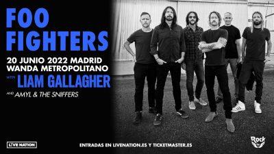 Foo Fighters visitan Madrid el próximo año