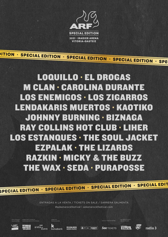 ARF Special Edition 2021 | El Drogas + The Lizards